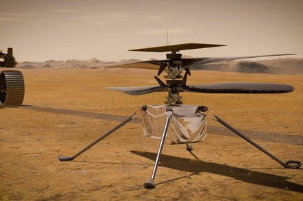 Hear the sounds of Mars in first-ever audio recording of Ingenuity in flight