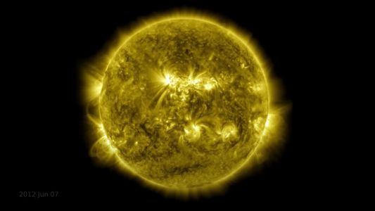 NASA Releases a 10-Year Time Lapse Video of The Sun