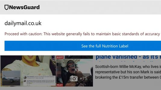 Microsoft Edge begins flagging fake news for iOS and Android users