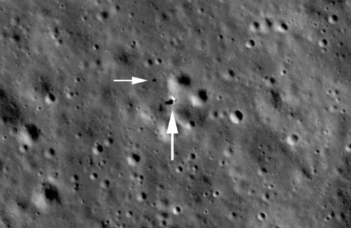 NASA captures best look yet at China's lunar lander hanging out on the Moon