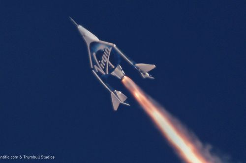 Virgin Galactic's spaceplane finally makes it to space for the first time