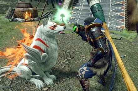 Monster Hunter Rise is getting a surprise Okami crossover