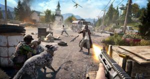 Far Cry 5 sticks to the series' sandbox formula, but past issues return