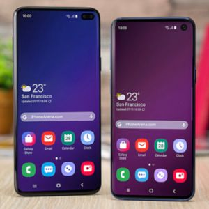 You're not supposed to see this video about the Samsung Galaxy S10/S10+ for two more days
