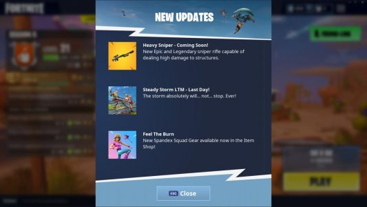 Fortnite: Battle Royale Adds Heavy Sniper Rifle