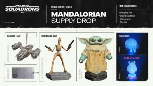 Star Wars: Squadrons to Add Free DLC From The Mandalorian