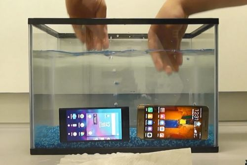 New waterproof tech means your phone will work after two hours in water