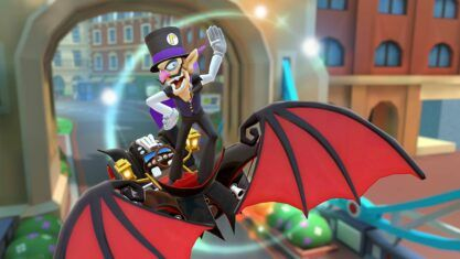 Mario Kart Tour adds Vampire Waluigi for Halloween, becomes the best mobile game ever