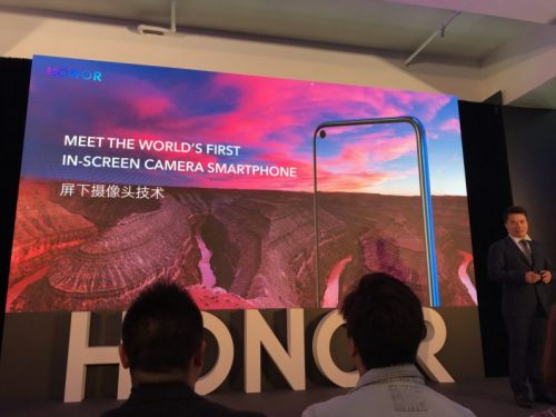 Honor's new View20 gets a 48MP rear camera and an under-screen selfie camera