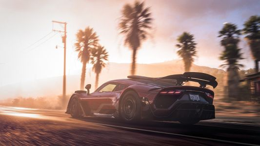 Forza Horizon 5's Events lab lets you make up your own mini games