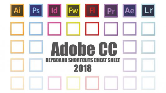 Crack Adobe CC with this keyboard cheat sheet