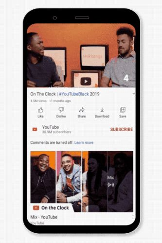 YouTube revamps its mobile app with new gestures, video chapter lists, and more