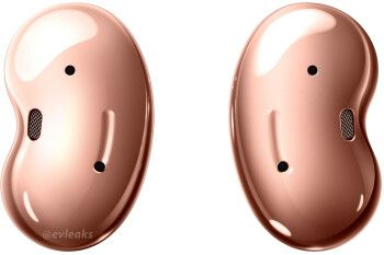 Leaked renders reveal three Samsung Galaxy Buds Live colors