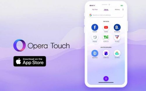 Opera Touch on iOS gains Crypto Wallet and Web 3 support
