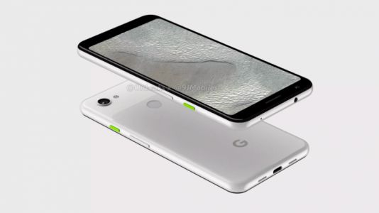 Pixel 3 Lite XL renders show a headphone jack and no notch