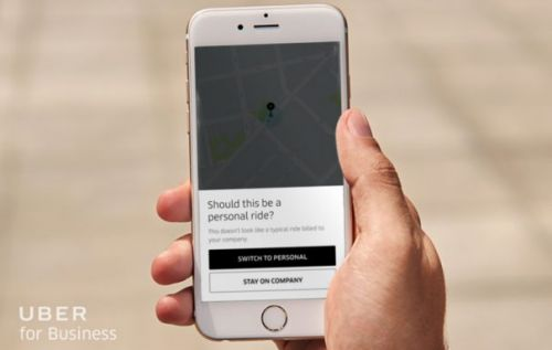 Uber uses AI to determine if a ride is personal or for work