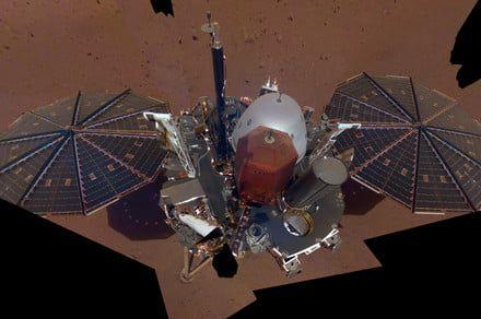 Say Cheese: InSight lander posts a selfie from the surface of Mars