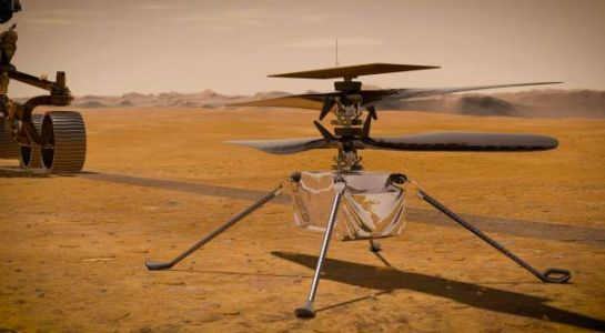 NASA's Mars helicopter is exceeding expectations in every way