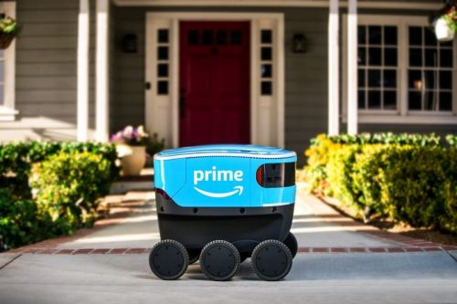 Amazon Scout is an adorable, impractical delivery robot
