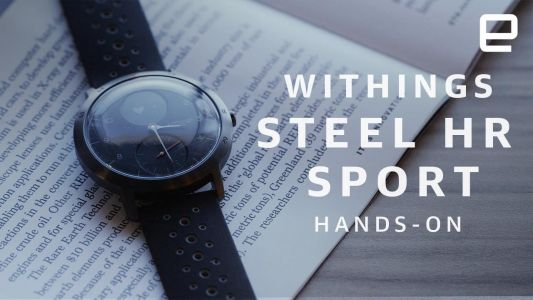 Withings makes its comeback with the Steel HR Sport
