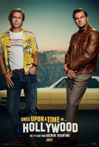 Quentin Tarantino's Once Upon A Time In Hollywood Gets Retro First Poster
