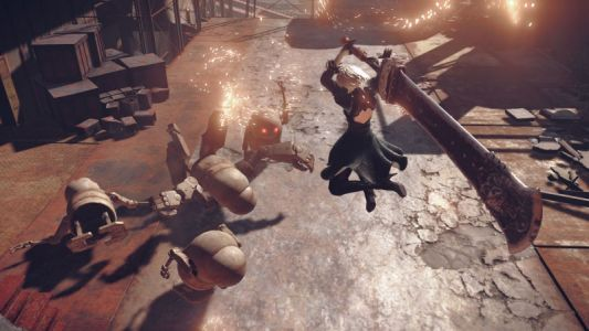 Nier: Automata HD Texture Pack Mod Completed After Four Years Of Development