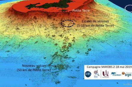 Scientists discover unexpected underwater volcano off the coast of Africa