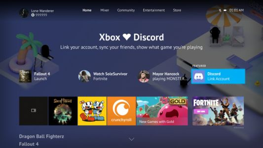 Xbox One May update serves up Discord integration, 120Hz support