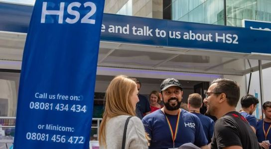 HS2 rail show coming to three locations in London