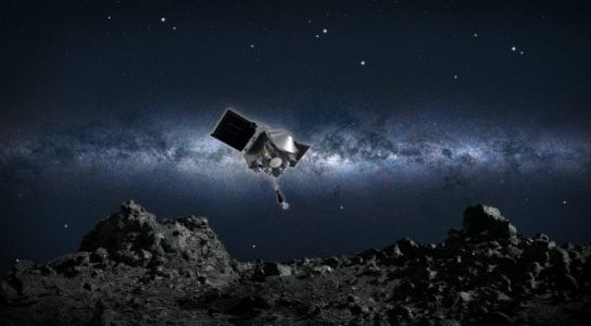NASA's OSIRIS-REx Asteroid Sample Is Leaking into Space