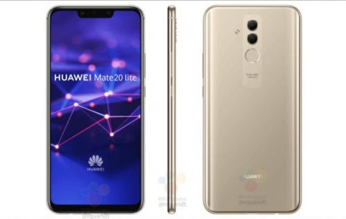 Huawei Mate 20 Lite pops up with a notch