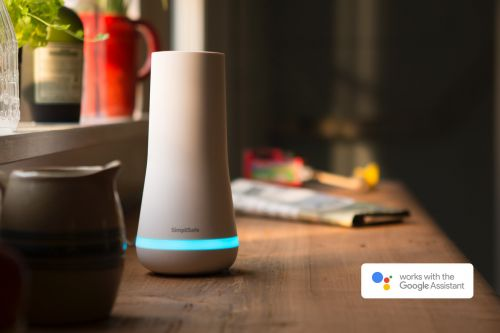 SimpliSafe's home security system now works with Google Assistant