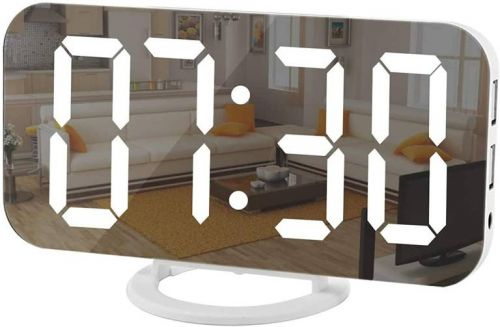 TikTok is so obsessed with this $18 mirror LED clock on Amazon