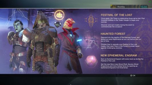 Destiny 2 Halloween Festival Of The Lost Event Now Live