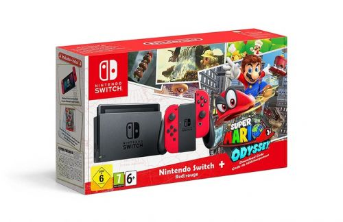 Nintendo Switch with Mario Odyssey for £279 wins Black Friday