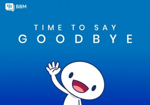 BlackBerry Messenger will be discontinued on May 31