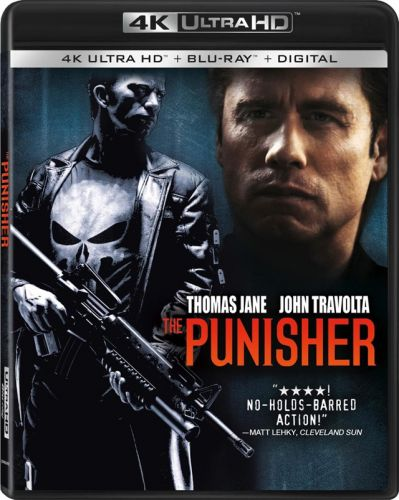 'The Punisher' and 'Punisher: War Zone' 4K UHD Bound via Lionsgate