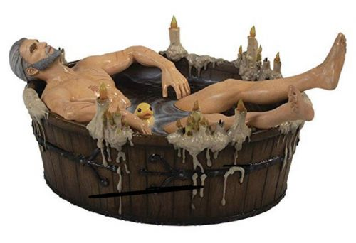 Witcher 3 'Geralt in Bath' statue goes up for preorder, costs $72