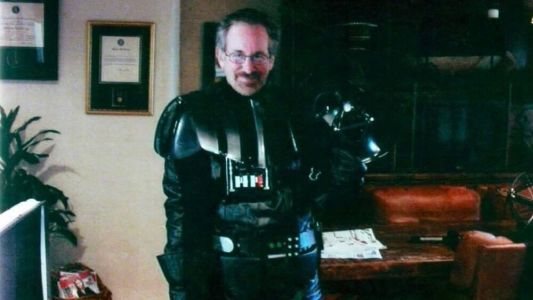 A Photo of Director Steven Spielberg Dressed Up as Darth Vader Surfaces