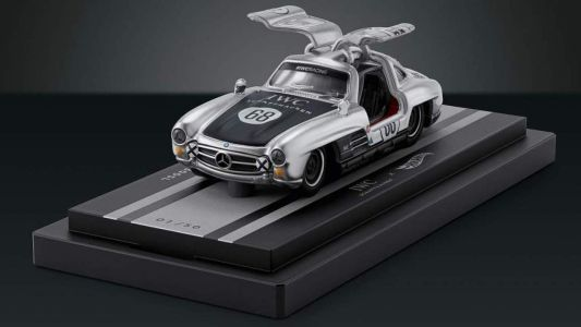 This Mercedes-Benz 300SL Gullwing by Hot Wheels costs $12,000