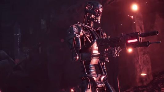 Announcement Trailer For a New TERMINATOR Video Game Called TERMINATOR: RESISTANCE