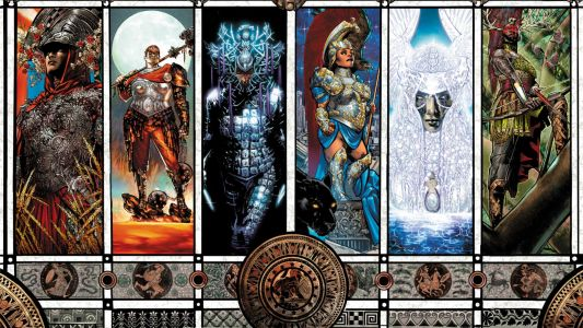 Phil Jimenez rocks these Wonder Woman Historia: The Amazons preview pages