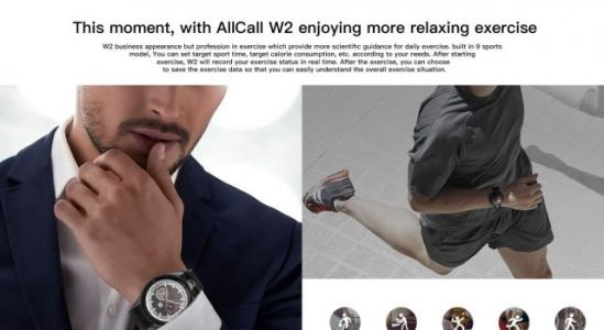 AllCall W2: Multiple sports modes can bring more benefits to your health
