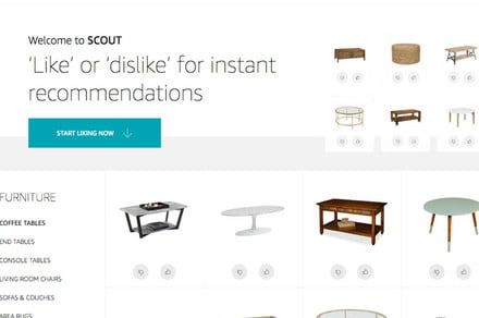 Is Amazon tweaking its search algorithms with a new A.I.-driven shopping site?