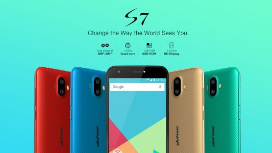 Budget dual-camera Ulefone S7 officially launched