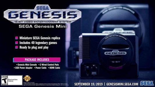 Enjoy Some Nostalgia With Half Off The Sega Genesis Mini