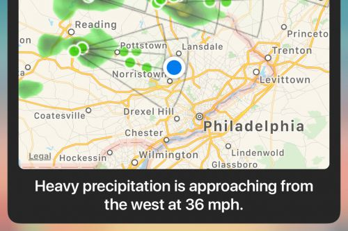 Carrot's iOS weather app can now notify you about incoming rain and snow