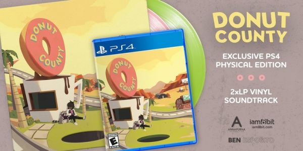 Donut County gets a limited physical PS4 release and vinyl soundtrack