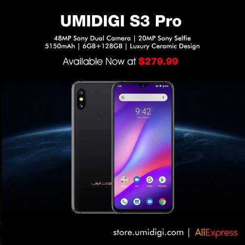 UMIDIGI S3 Pro as a cheaper alternative to Huawei P30 ?