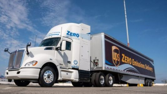UPS Adds 3 Hydrogen Fuel Cell Semis to Its Fleet